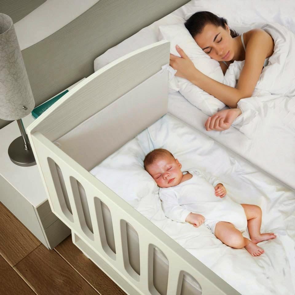 Cama con barrotes, imprescindible para el bebe