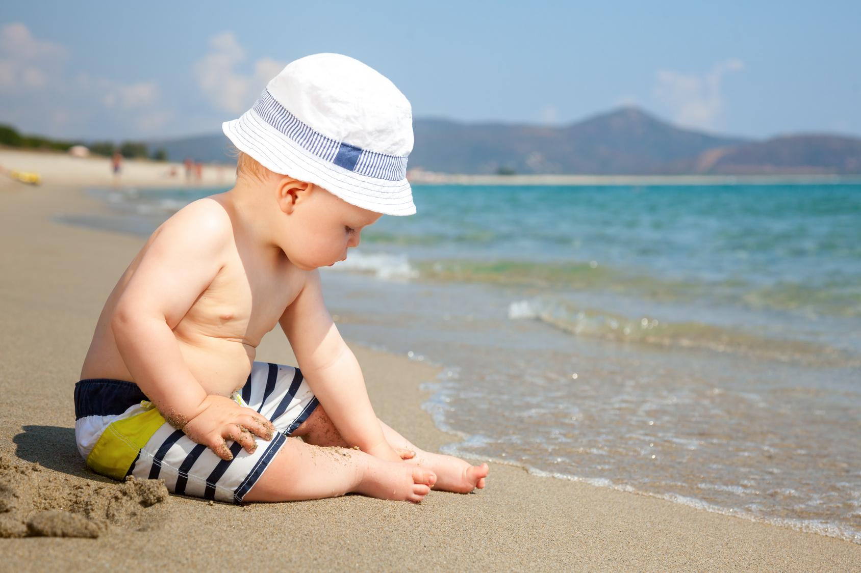 Bebe en verano, bebe en la playa
