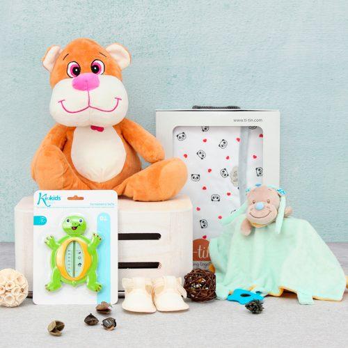 Cesta regalo, canastilla para bebes, canastilla regalo
