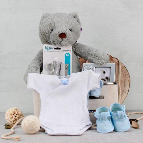 Cesta regalo para bebes, canastilla de regalo
