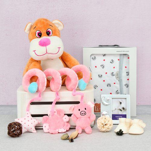 cesta regalo para bebes, canastilla para bebe, canastilla regalo