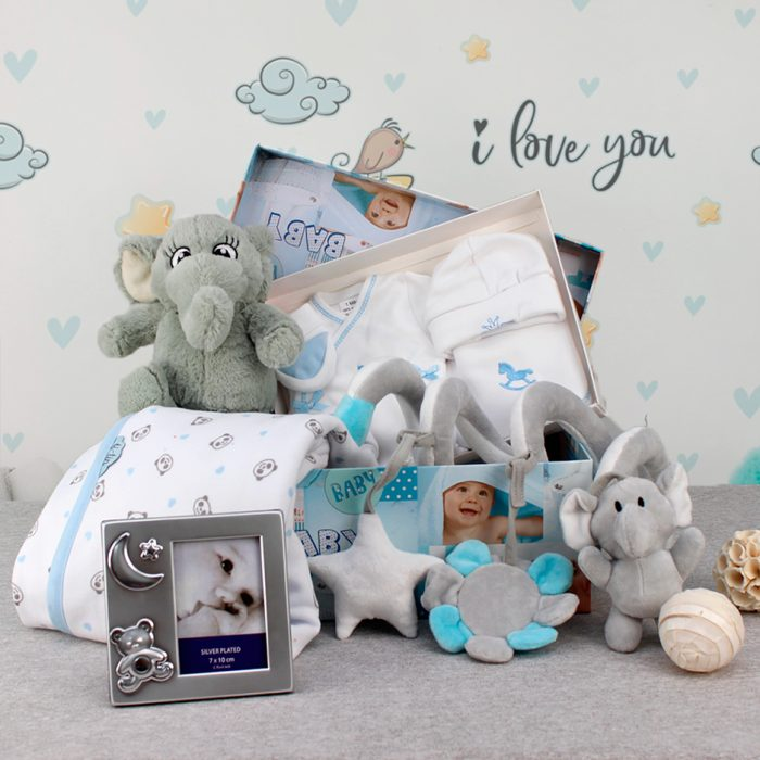 Cesta regalo para bebe, canastilla para bebe