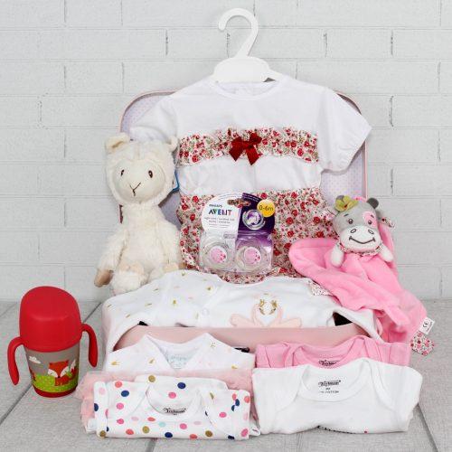 Cesta regalo, canastilla para bebes, cesta regalo de bebe
