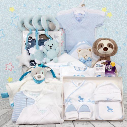Cesta regalos de bebes, canastilla regalo